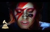 Lady Gaga doet David Bowie tribute
