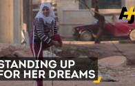 Syrisch meisje verliest haar been en vrienden, maar blijft dromen