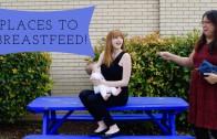 Vrouw maakt protest filmpje voor borstvoeding