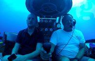 Diep onder water in Bermuda