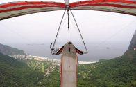 Paragliden over Rio de Janeiro