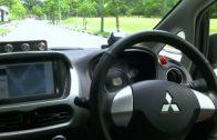 Zelfrijdende taxi maakt eerste rondjes