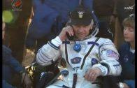 Amerikanen en Russen keren terug van ISS