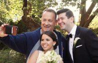 Tom Hanks valt bruiloft binnen