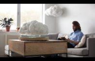 Een zwevende wolk als bluetooth-speaker
