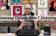 Samsung Galaxy Note 7 uitpakken met Arjen Lubach