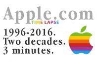 Timelapse: zo veranderde het design van de website van Apple