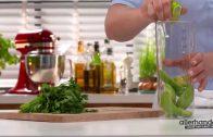 Heerlijke groene lentesalade