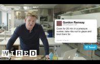 Gordon Ramsay beantwoord vragen van Twitter