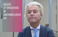 Hof schuift getuigen Wilders opzij