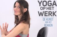 Yoga vanuit je bureaustoel: 'De Romeinse boog'