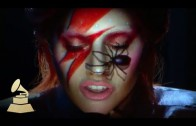 Lady Gaga doet David Bowie tribute