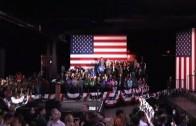 Hillary Clinton stormt vooruit op Super Thuesday