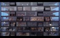Uitklapbaar balkon van Nederlandse architecten
