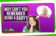 Waarom herinner je niks van je babytijd?