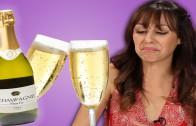 Fransen proberen Amerikaanse Champagne