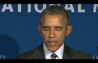 Obama over gelijkheid tussen mannen en vrouwen
