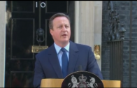Cameron stapt op na Brexit