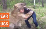 Worstelen met een beer