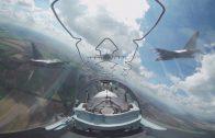 360º rondkijken in een straaljager