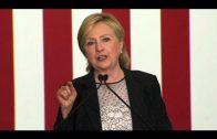 Clinton presenteert economische plannen