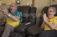 Grootouders worden gek als kleinzoon goud wint