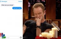 Sting bij Jimmy Fallon