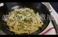 Citroen knoflook pasta