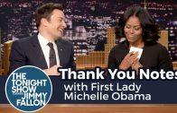 Michelle Obama wordt emotioneel vanwege vertrek