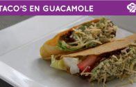 Overheerlijke Mexicaanse taco's met guacamole