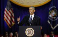 President Obama houdt emotionele laatste speech