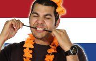Amerikanen eten Nederlands snoep