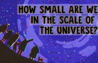 Hoe klein zijn we in het universum?
