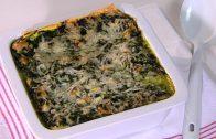 Lasagna met geitenkaas en spinazie