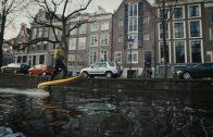 Elektrisch surfen door Amsterdam