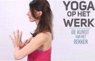 yoga op het werk
