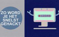 Je verjaardag als wachtwoord? Peulenschil voor hackers!